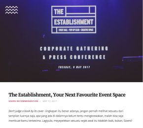 Goers Partnership Content Marketing